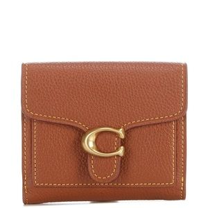 COACH Polished Pebble Tabby Small Wallet